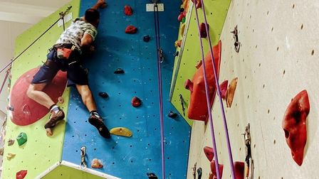 Parkfield offers public climbing sessions, a young climbers' club and private hire - all with a Reac