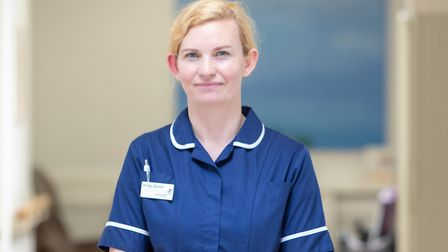 Vicky Bartlett, Rowcroft's deputy director of patient care and professional lead. Photo: Roy Riley