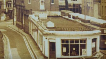 The Marine Tavern - popular with theatre goers and artists alike