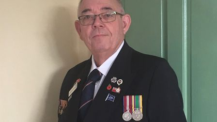 Torridge district councillor Michael Clarke will be at the service at the Cenotaph in London.