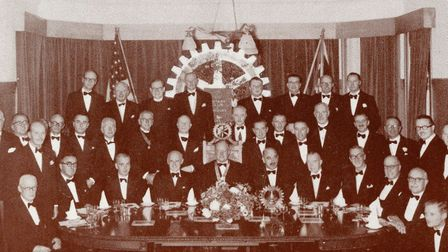 Flashback to 1952 and a club dinner at the San Remo Hotel when dentist Robert G Hunt was club presid