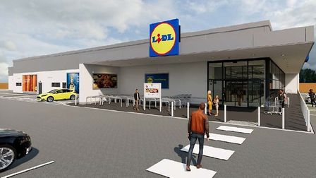Example of a typical Lidl store