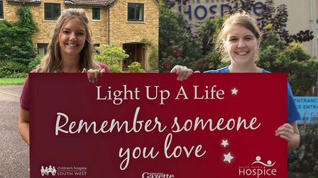 Together but apart -– nurses from Children's Hospice South West and North Devon Hospice launch the 2