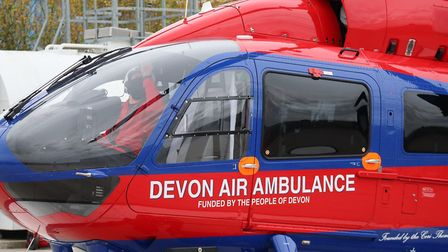 The new Devon Air Ambulance H145.