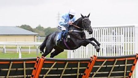 Bryony Frost in the saddle