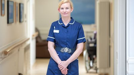Vicky Bartlett, deputy director of patient care and professional lead at Rowcroft Hospice. Photo: Ro