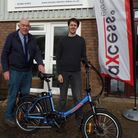 The Axcess Electric Bikes team at their base in Heathfield Industrial Estate. Picture: Fran Mcelhone