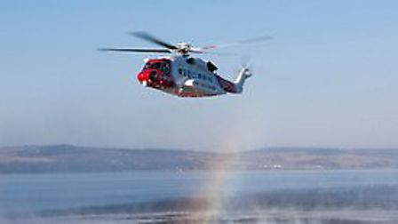 HM Coastguard immediately sent the Coastguard rescue helicopter from Lydd, supported by the Coastgua