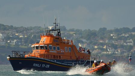 RNLI receive donation from Inter-Line
