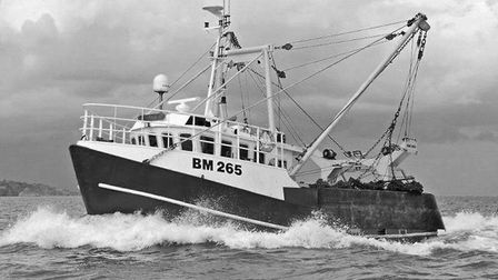 The Joanna C scalloping vessel Picture: Exmouth RNLI Facebook page