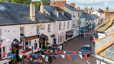 Sidmouth town centre. Picture: Alex Walton Photography