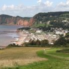 Sidmouth from Salcombe Hill. Ref shs 8478-35-15SH. Picture: Simon Horn