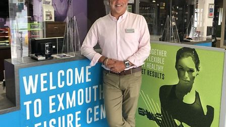 LED Exmouth centre manager Simon Findel-Hawkins. Picture: LED Leisure