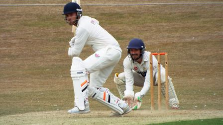 Action from Exmouth Cricket Club v Sidmouth Cricket Club. Picture: Sam Cooper
