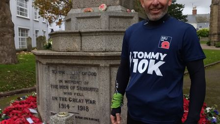 Adrian Horne takes on the Tommy 10k for Royal British Legion