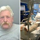 Stephen Evans has been jailed for the incident which left Jean-Pierre de Villiers with serious injur