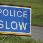 Police slow sign
