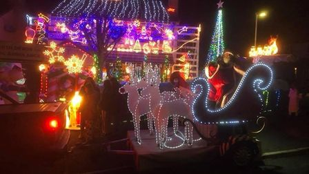 Santa and his sleigh will be out with Barnstaple Round Table around the town this December. Picture: