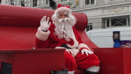 The Bideford Round Table Santa sleigh is coming to town from December 7, 2020.