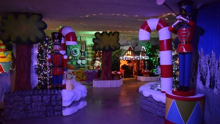 Last year's Grotto at Otter Garden Centre. Picture: Contributed