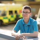 Robert Braunton is working at North Devon District Hospital thanks to gaining a paid work placement