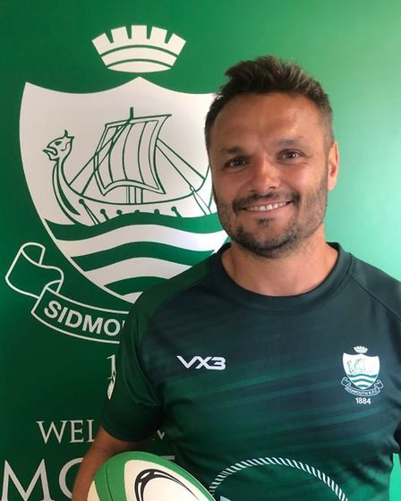 Phil Dollman, Chiefs favourite and Sidmouth Rugby Club player coach