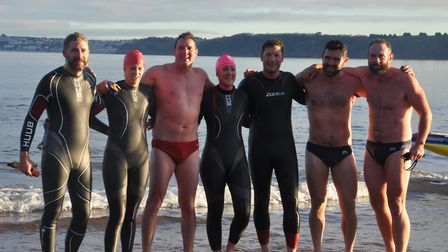 Cold water swimmers. Skins or wetsuits?