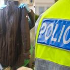 The jacket taken off by an unknown woman before she walked down steps into Ilfracombe harbour. Her b