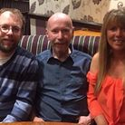 Peter Bray, with his children Martin and Gail, will be greatly missed by the family this Christmas.