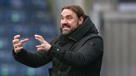 Norwich Head Coach Daniel Farke during the Sky Bet Championship match at Ewood Park, BlackburnPict