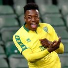Timi Odusina celebrates scoring for Norwich City U18s in the FA Youth Cup fifth round tie against Ne