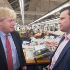 Boris Johnson is interviewed by ITV Central
