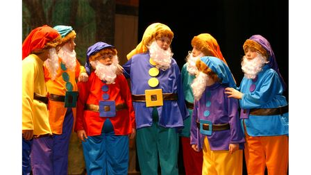 The Co-op Juniors production of Snow White at Ipswich Regent in 2002