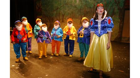 The Co-op Juniors' production of Snow White in Ipswich in 2002