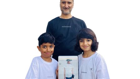 Ilford dad and sons create business out of lockdown project.