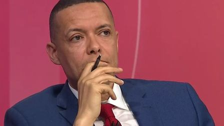 Clive Lewis appears on the BBC's Question Time. Photograph: BBC.