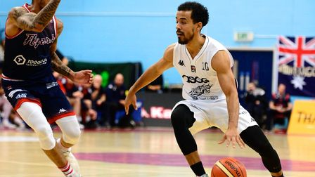 Justin Robinson attacks for London Lions