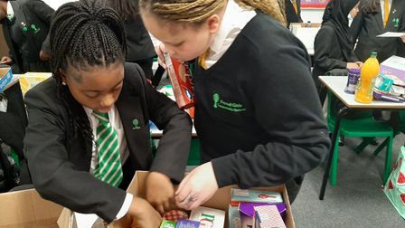 Forest Gate Community School students