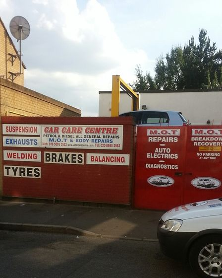 The Car Care Centre on Rendlesham Road