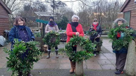 Community Roots wreaths