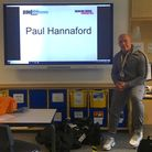 Romford-born Paul Hannaford gives talks on addiction all over the country.