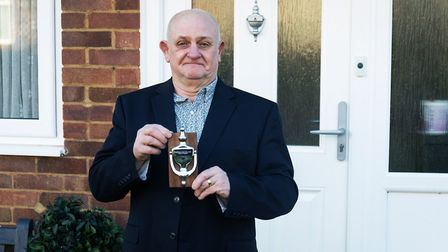 Stevenage's DJ Gary has been named the East of England Neighbour of the Year. Picture: Joel Chant /www.joelchant.com