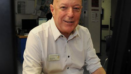 Tributes are being paid to Hinchingbrook Hospital ward clerk Dave Kemp who died from Covid 19.