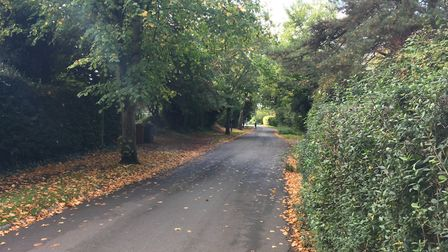 The Norton Action Group are concerned that the charm will be lost in Croft Lane and Cashio Lane. Picture: Georgia Barrow