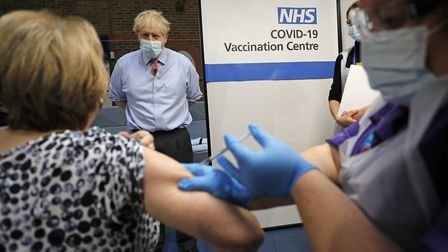 The NHS has released the latest coronavirus Pfizer/BioNTech vaccine advice. Picture: Frank Augstein/PA Wire