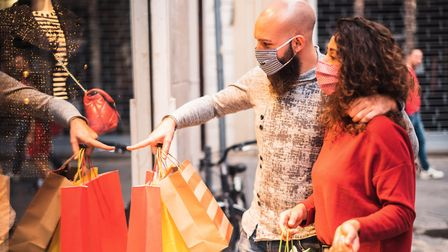 Enjoy shopping safely in Stevenage this festive season. Picture: Getty Images