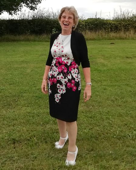 Faith Roots shed eight stone and dropped eight dress sizes with support from herSlimming World consultant Picture...