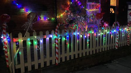 The Ladder Roads in St Albans hold an annual Christmas lights competition.