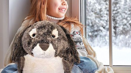 Threads has a range of beautiful gift ideas for Christmas, including these giant rabbit handwarmers. Picture: Threads