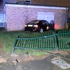 Drink driver twice the legal limit charged after ploughing into youth centre in Huntingdon. Picture: CAMBS POLICE